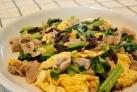 きくらげと卵と豚肉の炒め物(木須肉)