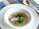 菜の花とあさりのスープ