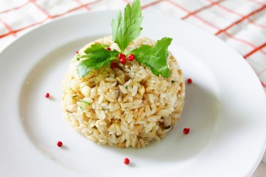 炊飯機能で中華風炊き込みご飯