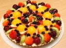 新鮮なフルーツがたっぷり