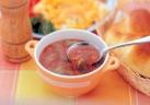 ほっと温まる寒天スープ