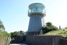頭島の高台にある展望台