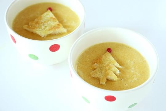 にんじんのつぶつぶスープ