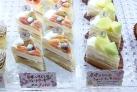 日本いちじくと足守メロンのケーキ