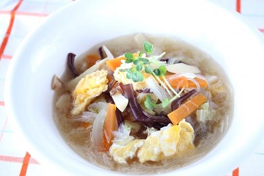 中華春雨スープ