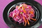 紫キャベツのコールスローサラダ