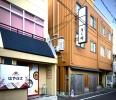 部屋は日本料理きく井のビル4階
